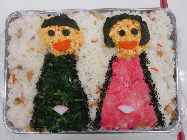 おひなさまちらし寿司